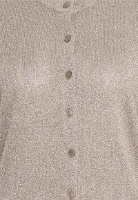 Part Two - FIANNA - Cardigan - lurex gold'ish - 2