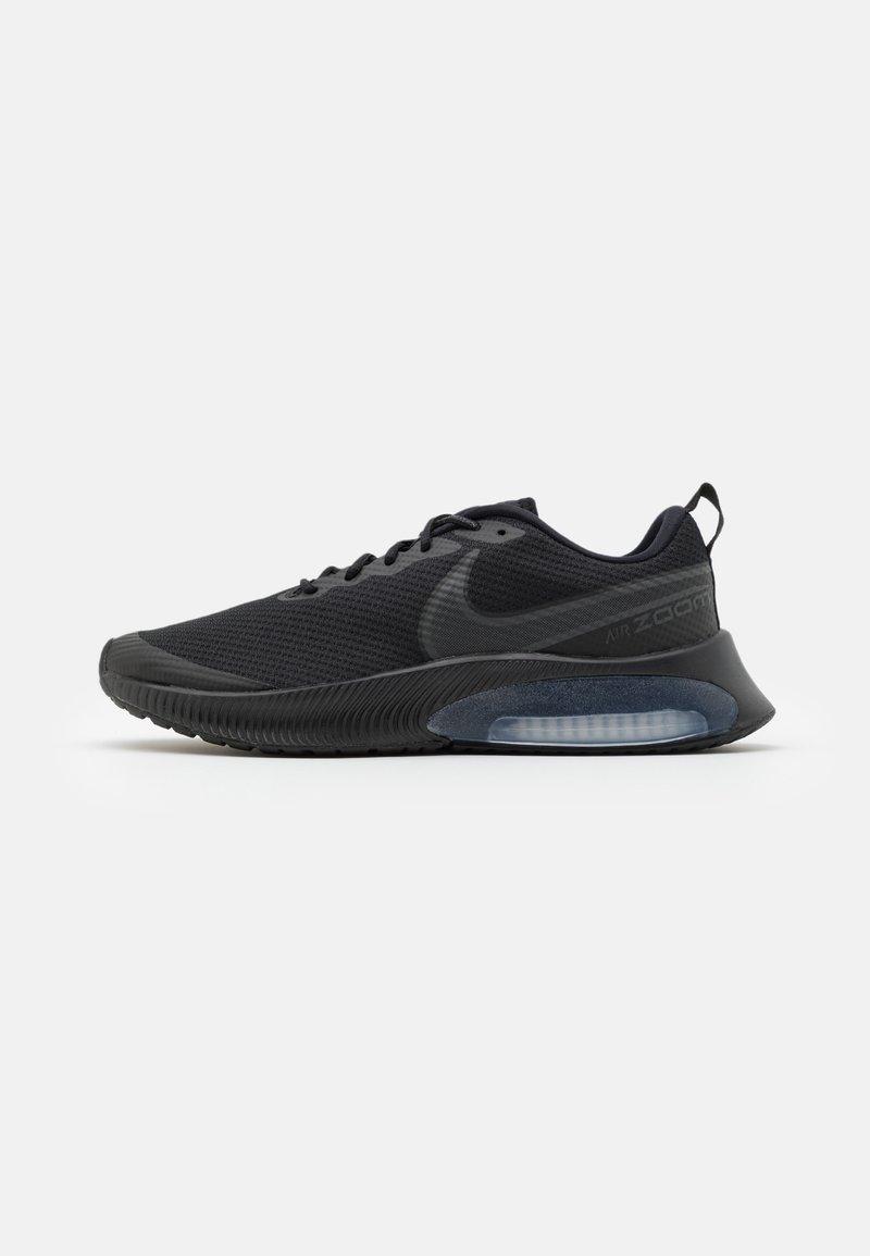 Nike Performance - AIR ZOOM ARCADIA GS UNISEX - Neutrální běžecké boty - black/dark smoke grey