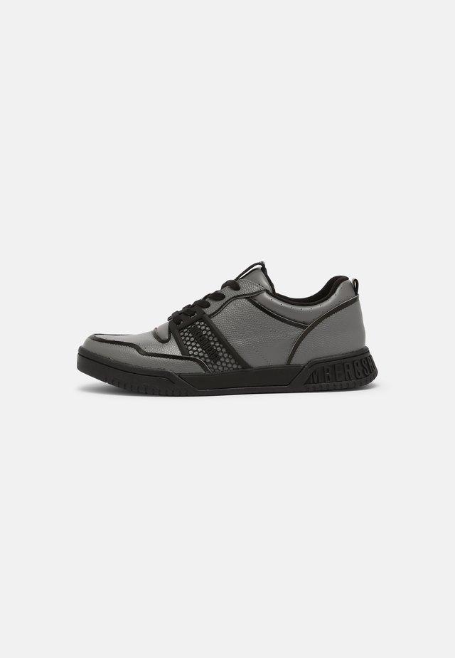 SCOBY - Baskets basses - steel grey/black