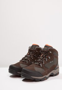 Hi-Tec - STORM WP - Chaussures de marche - dark chocolate/dark taupe/burnt orange - 2