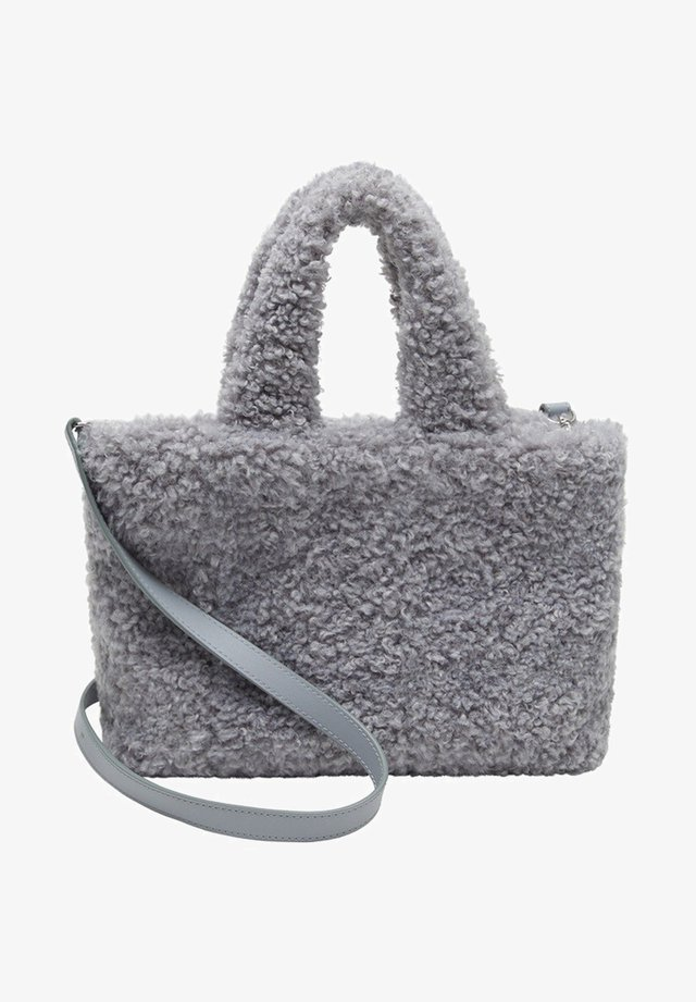 FURRY - Handbag - šedá