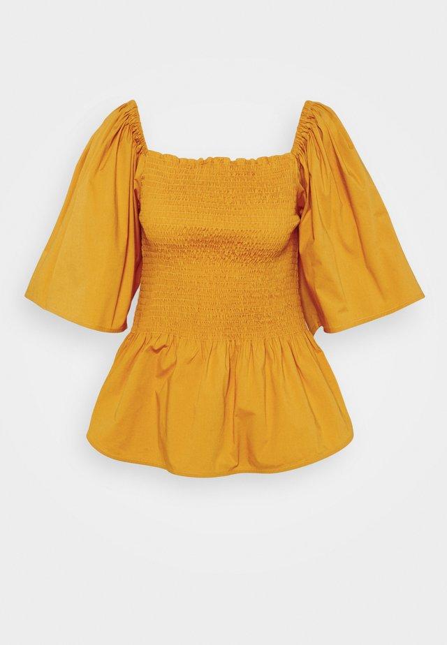 Bluzka - golden yellow
