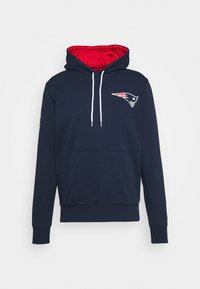New Era - NFL CHEST TEAM LOGO HOODY NEW ENGLAND PATRIOTS - Club wear - dark blue - 5