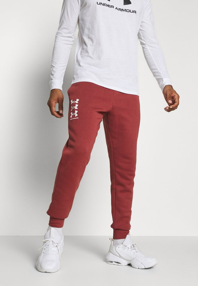 RIVAL MULTILOGO - Pantalon de survêtement - cinna red/onyx white