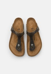 Birkenstock - GIZEH UNISEX - T-bar sandals - faded khaki - 3