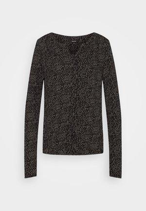SANDRI - Langærmede T-shirts - black