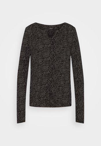 SANDRI - Long sleeved top - black