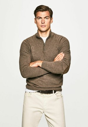 Pullover - dk taupe
