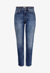 ONLY - MOM FIT JEANS - Slim fit jeans - dark blue denim - 4