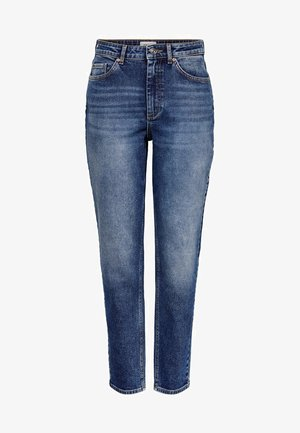 MOM FIT JEANS - Džíny Slim Fit - dark blue denim