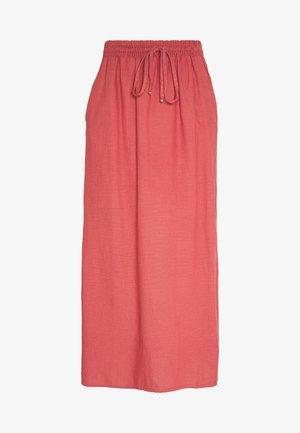 VIKALUNA ANCLE SKIRT  - A-line skirt - dusty cedar