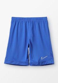 Nike Performance - DRY ACADEMY SHORT  - Pantalón corto de deporte - game royal/white - 0