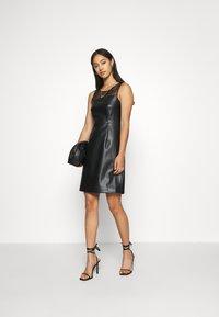 ONLY - ONLVIBE MIX DRESS - Kjole - black - 1