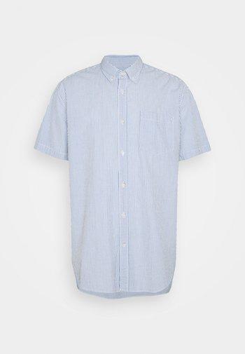SEERSUCKR - Shirt - blue