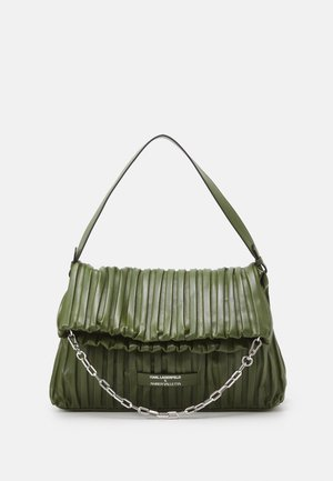 SUSTAINABLE AMBER VALLETTA KLXAV PLEATED FOLDED TOTE - Shopping bag - green