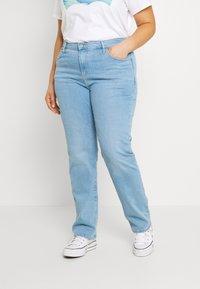 Levi's® Plus - 724 STRAIGHT - Straight leg jeans - rio aura - 0