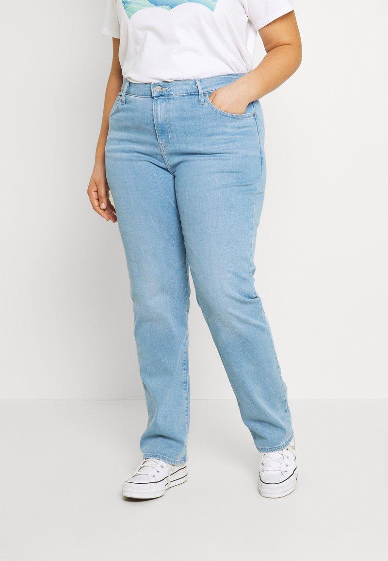Levi's® Plus - 724 STRAIGHT - Straight leg jeans - rio aura