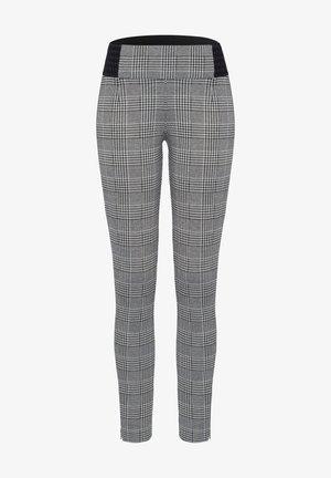 Leggings - Trousers - schwarz/weiß
