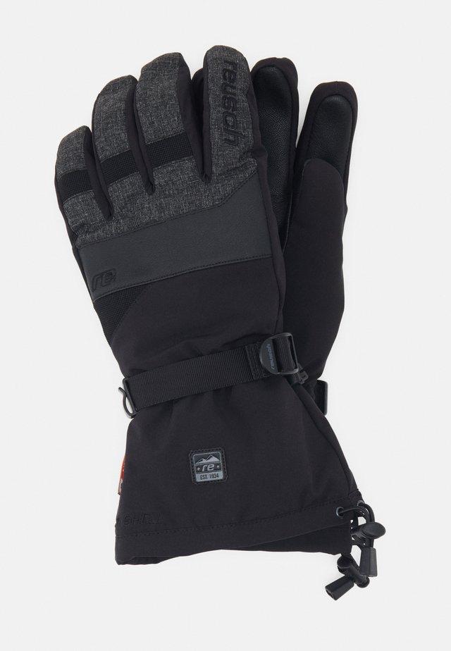 SID R-TEX® XT TRIPLE SYSTEM - Rękawiczki pięciopalcowe - black/black melange
