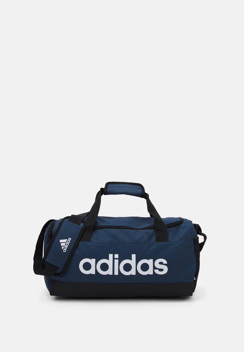 adidas Performance - LINEAR DUFFEL S UNISEX - Treningsbag - crew navy/black/white