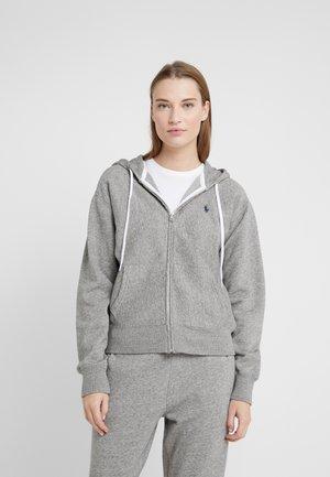 SEASONAL  - Zip-up hoodie - dark vintage heat