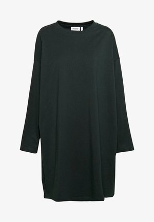 ELKE LONG SLEEVE DRESS - Jersey dress - bottle green