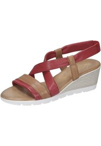 Piazza - Wedge sandals - rot - 1