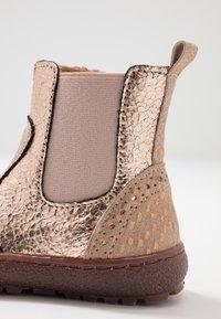 Bisgaard - BOOTIES - Støvletter - rose gold - 2