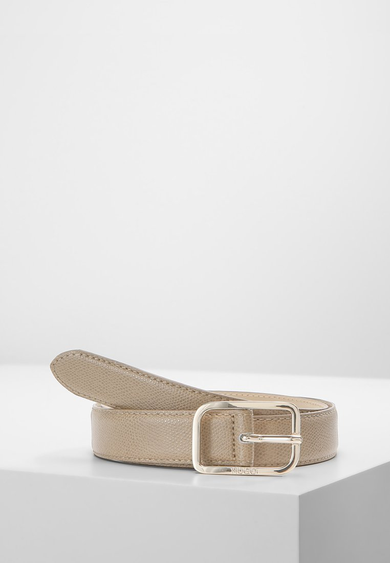 HUGO - ZAIRA BELT - Skärp - medium beige
