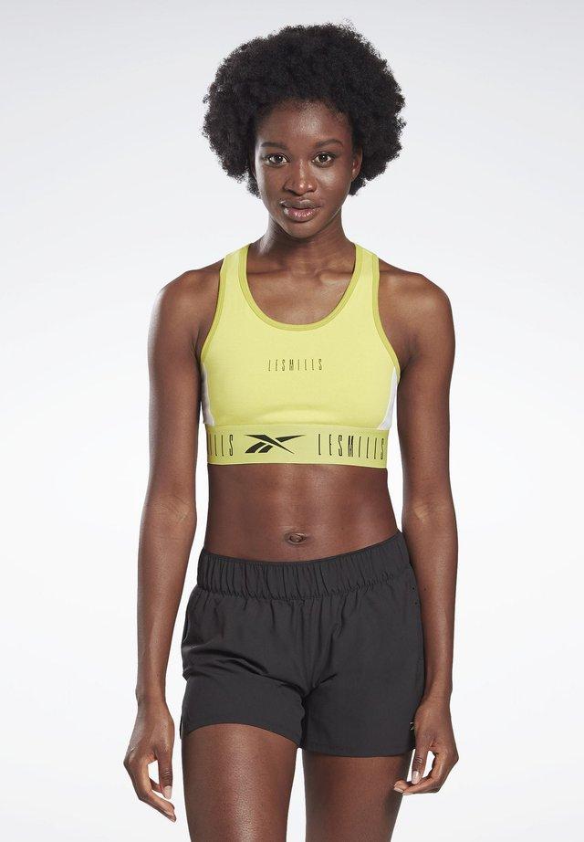 LES MILLS® LOW-IMPACT SPORTS BRALETTE - Sports bra - green
