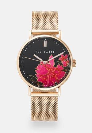 PHYLIPA LEMONGRASS - Watch - rosegold-coloured/black