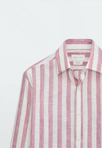 Massimo Dutti - Shirt - bordeaux - 4