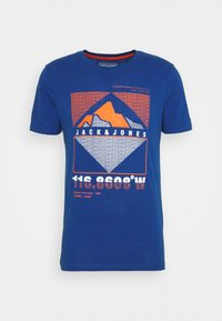 JCOGIBS SPRING TEE CREW NECK - T-shirt med print - galaxy blue