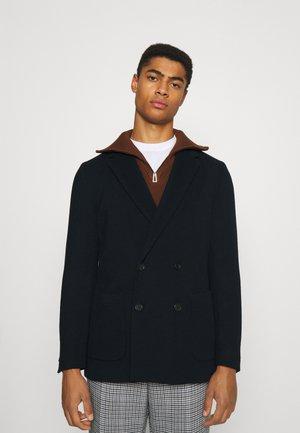 BOSS X RUSSELL ATHLETIC CAJAN - Blazer jacket - navy