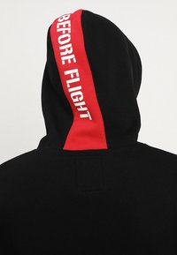 Alpha Industries - INLAY TAPE HOODYEXCLUSIV - Hoodie - black - 5