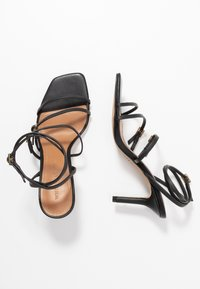 Who What Wear - EVERLY - High heeled sandals - black - 3