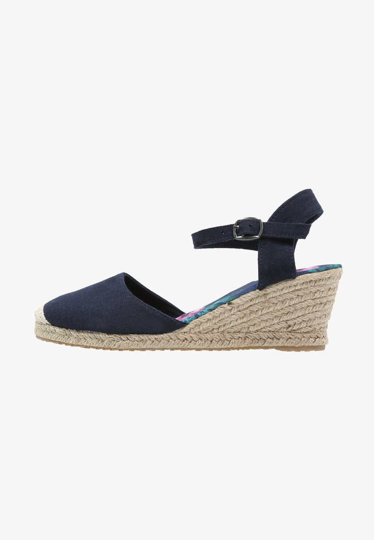 Anna Field - Wedge sandals - navy