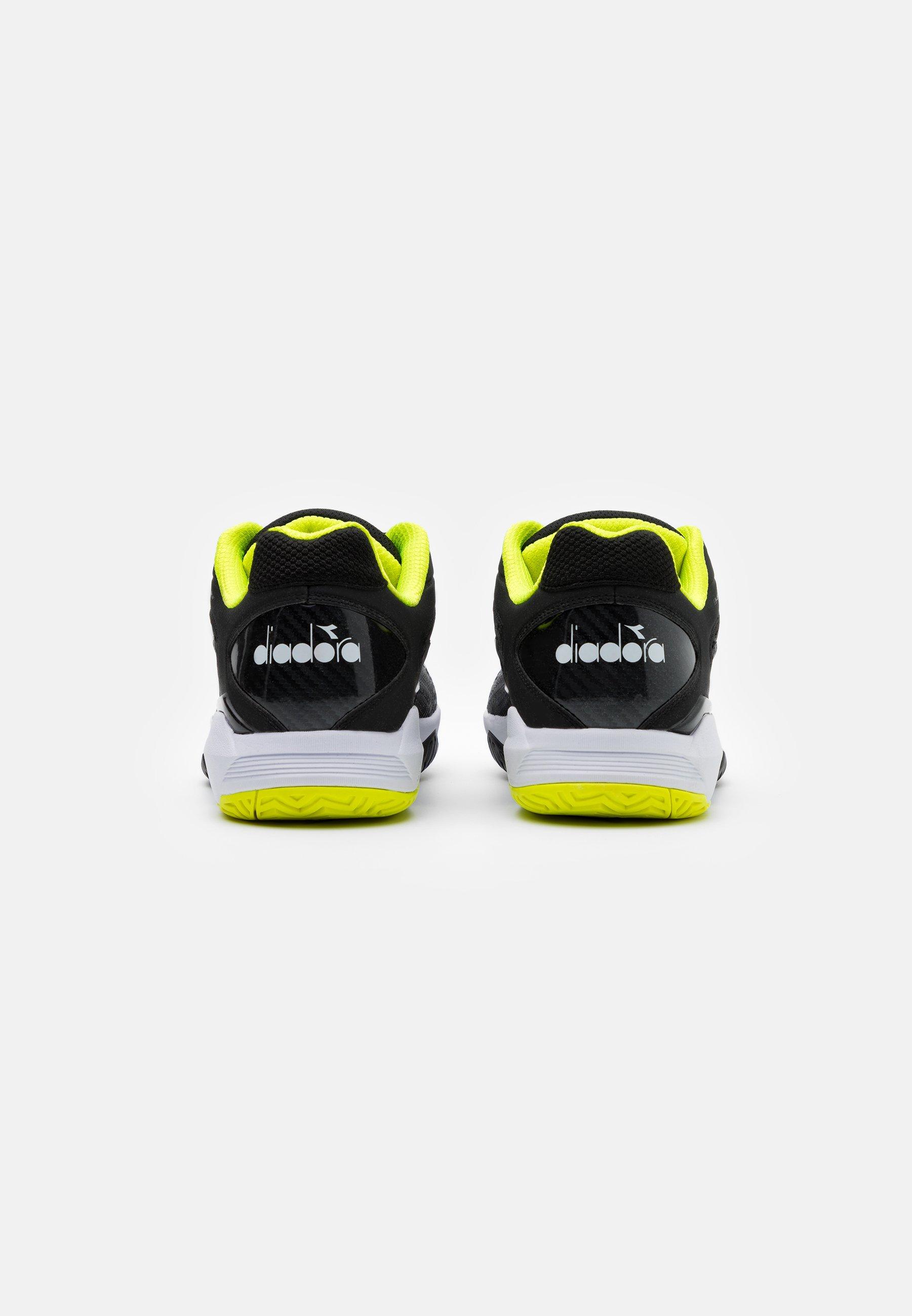 Negozio Scarpe da uomo Diadora SPEED COMPETITION 5 + AG Scarpe da tennis per tutte le superfici black/white/yellow