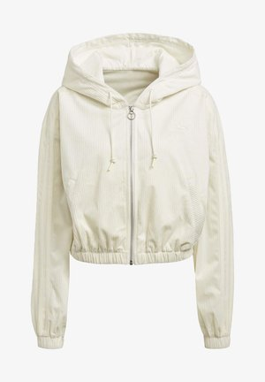 SPORTS INSPIRED HOODED TRACK TOP - Bluza rozpinana - owhite