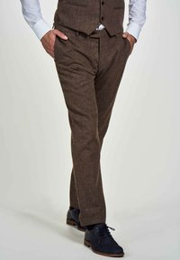 MDB IMPECCABLE - Suit trousers - sand - 0