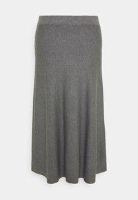 Masai - STINA - A-line skirt - medium grey melange - 1