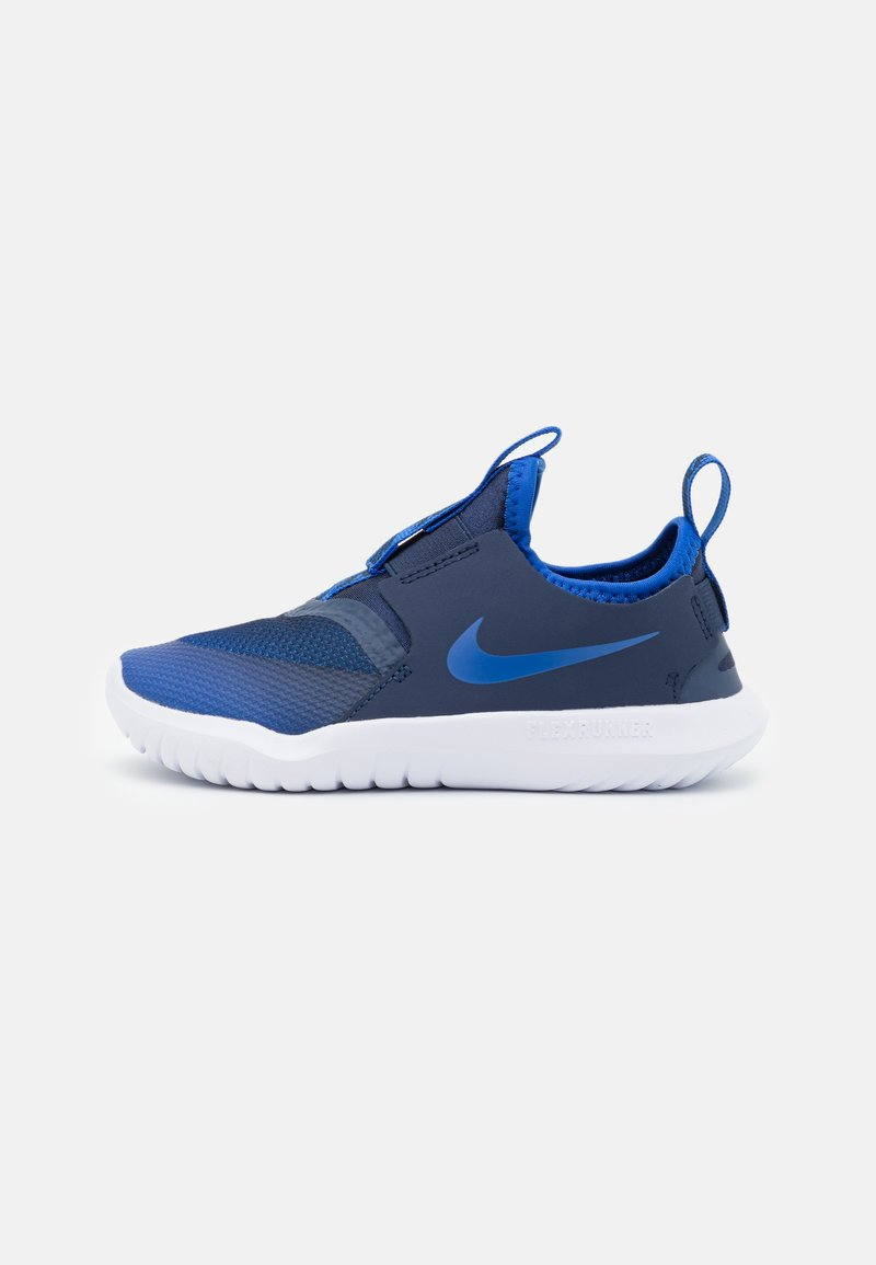 Nike Performance - FLEX RUNNER UNISEX - Neutral running shoes - game royal/midnight navy/white