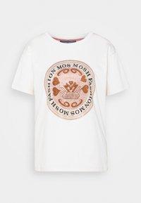 Mos Mosh - LEAH TEE - Print T-shirt - ecru - 3