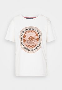 LEAH TEE - Print T-shirt - ecru