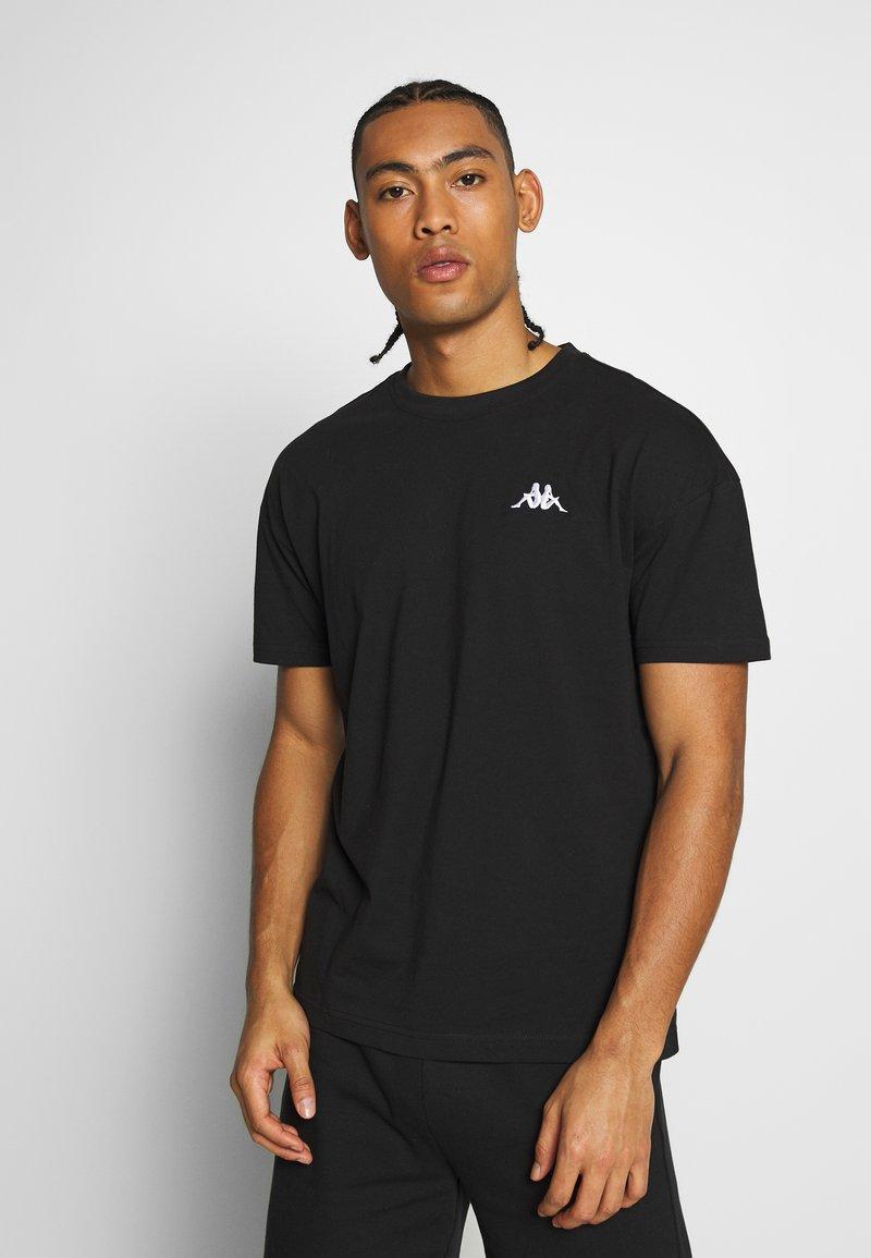 Kappa - VEER - T-shirts basic - caviar