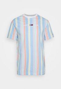 Tommy Jeans - STRIPE TEE - T-shirt imprimé - light powdery blue - 4