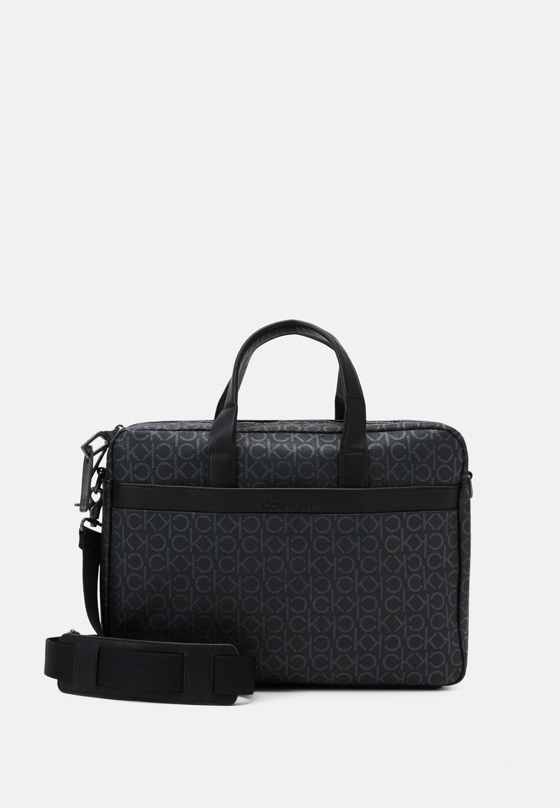 Calvin Klein - LAPTOP BAG - Aktówka - black
