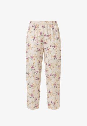 MIT BLÜMCHEN  - Pyjamabroek - nude