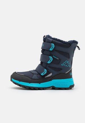 VIPOS TEX UNISEX - Winter boots - navy/türkis