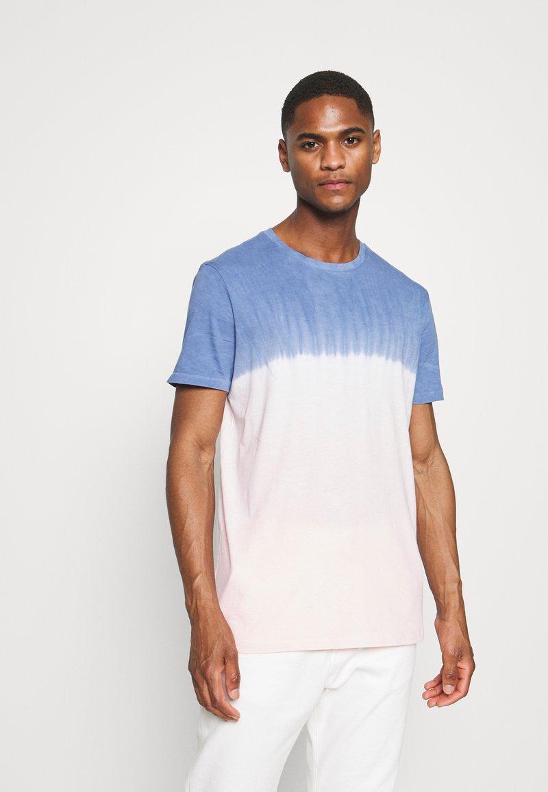 GAP - CREW TIE DYE - Print T-shirt - pink